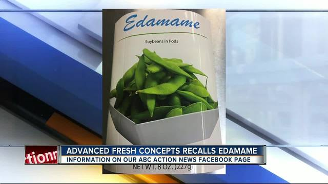 Edamame recalled by over listeria fears