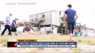 Deputies looking for young men in YouTube video