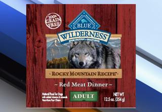 Blue Buffalo wet dog food recalled