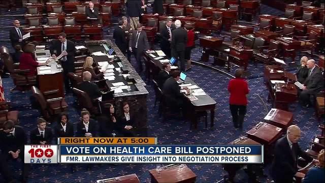Vote on health care bill postponed