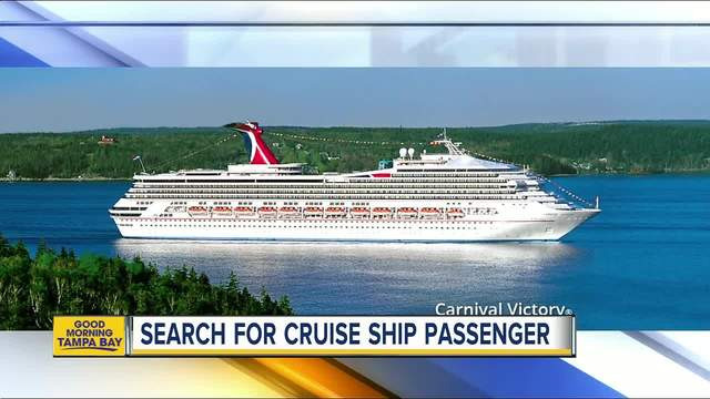 USCG Searching For Yearold Carnival Victory Cruise Ship - Cruise ship victory