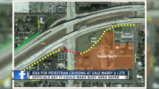 Dale Mabry could get pedestrian trail crossover near I-275