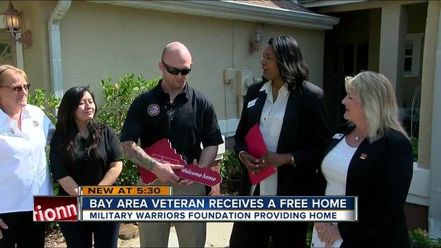 Florida wounded vet gets free home in Tarpon Springs