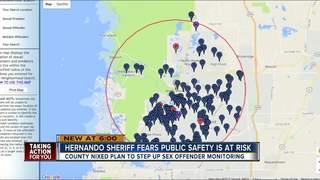 Sheriff seeks funding for sex offender concerns