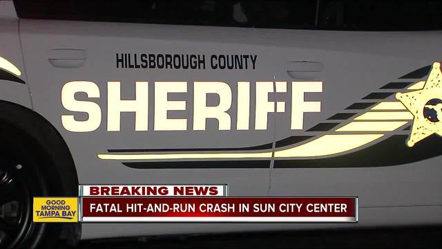 Fatal hit and run crash in Sun City Center