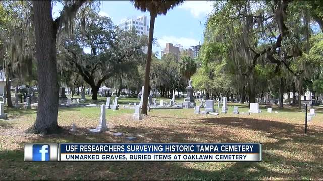 The oldest public cemetery in Tampa is going digital