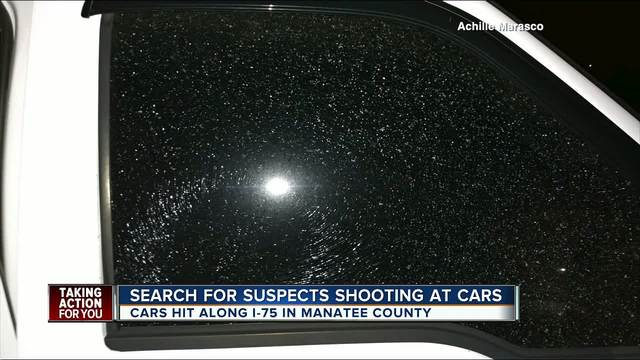 Drivers report being hit by BB-s while traveling on I-75