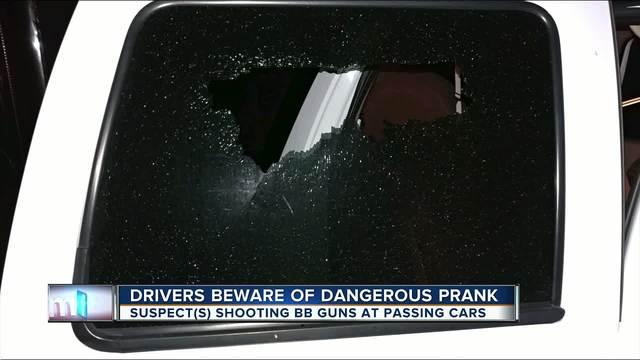 Driver beware of dangerous prank on I-75