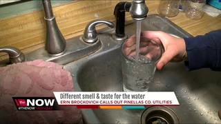 Water taste, odor difference coming to Pinellas