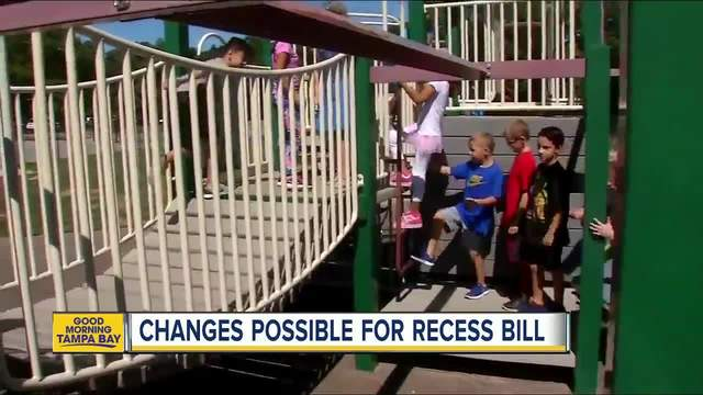 Changes possible for Florida -recess- bill