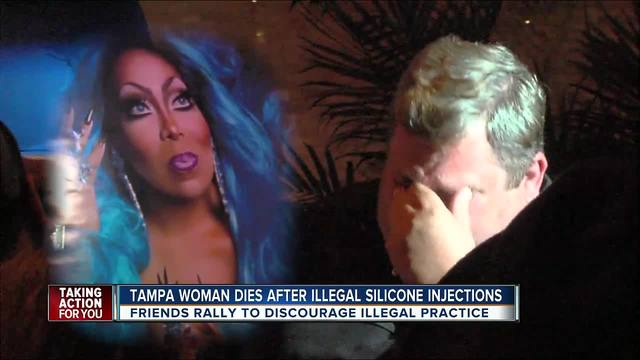 Tampa woman dies days after getting illegal silicone injections