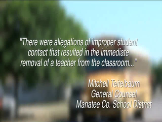 Manatee teacher accused of dragging student