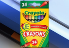 Crayola to drop color from 24 pack