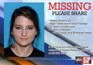 MISSING | 17-year-old Tampa girl
