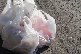 Recycling plastic grocery bags cause big problem
