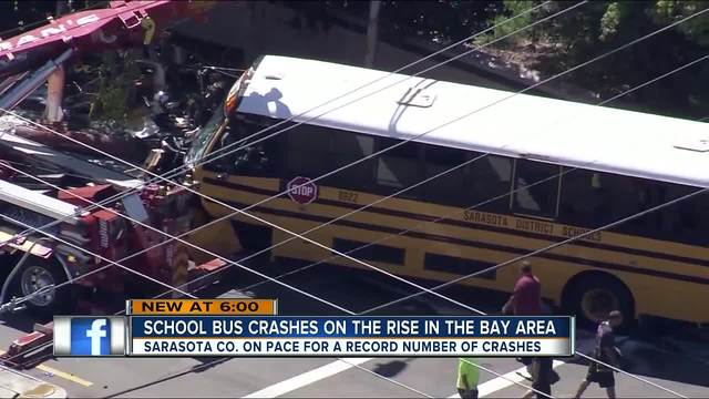 7 special needs students hurt in Florida school bus crash