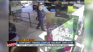 Couple Steals A Pool From Walmart In Brazen Theft Caught On Cam Wfts Tv