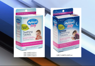 FDA issues recall for Hyland's Teething Tablets