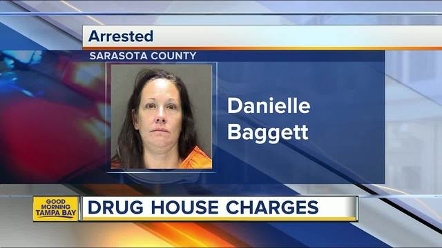Florida woman charged 'cover fee' at drug flop house