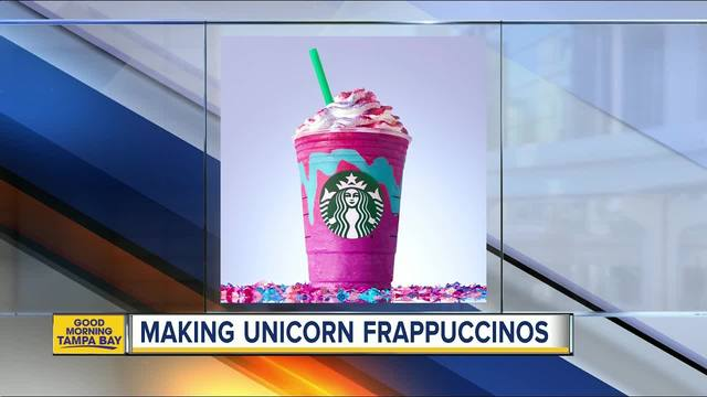 Starbucks Creates Magical Color Changing Unicorn Frappuccino Available For A Limited Time