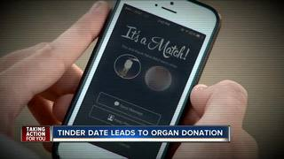 Tinder date leads to organ donation