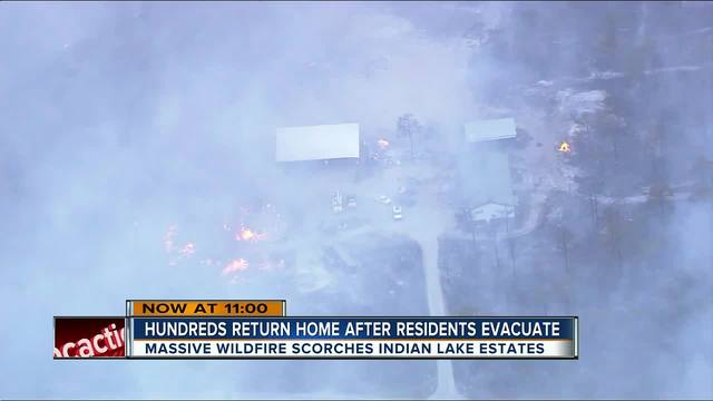 UPDATE: Residents return to homes in Polk County