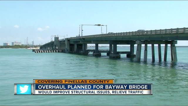 Part of Pinellas Bayway set to be replaced near Tierra Verde Islands