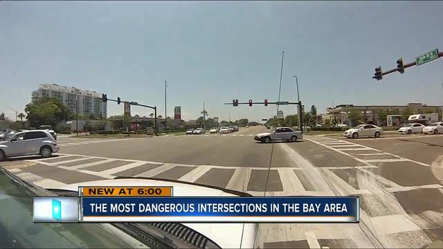 ABC Action News exposes the most dangerous intersections in Tampa Bay