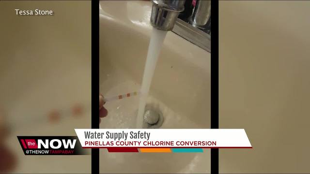Water samples show toxic chemicals found above EPA standards in Pinellas…