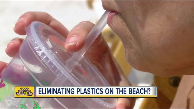 Local group looks to get rid of plastic products on Clearwater Beach