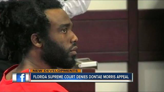 Florida Supreme Court denies Dontae Morris appeal
