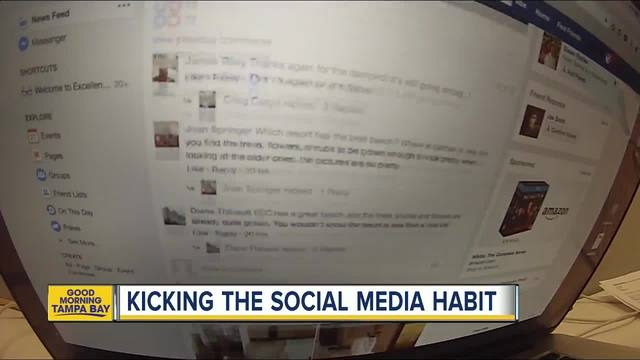 Distracted users taking extreme measures by deleting social media accounts