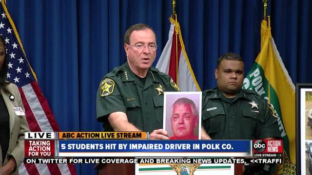 PART 2 - Polk County Sheriff Grady Judd provides update on 5 students…