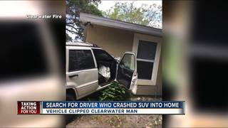 Stolen car hits Clearwater home
