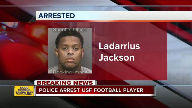 USF football player arrested for sexual battery- false imprisonment
