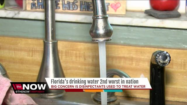 Report Finds Florida Drinking Water Ranks 2nd Worst In
