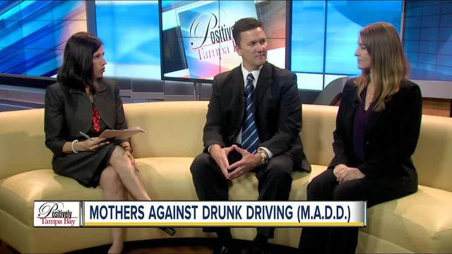Positively Tampa Bay- Mothers Against Drunk Driving