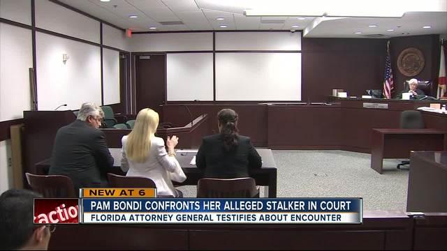 Bondi gets keep-away order for alleged stalker