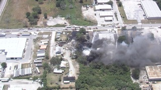 PHOTOS | 5-alarm fire in Manatee County