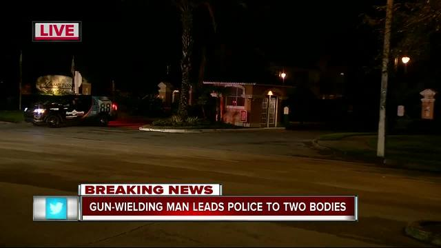 Man suspected of killing 2 in New Tampa identified