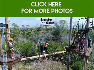 Photos: Zip lining at Empower Adventures