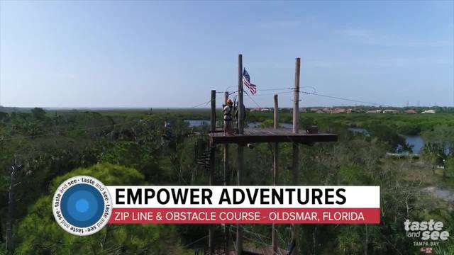 Zip on- Empower Adventures is the ideal destination for adrenaline seekers