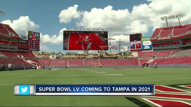 Super Bowl LV coming to Tampa in 2021