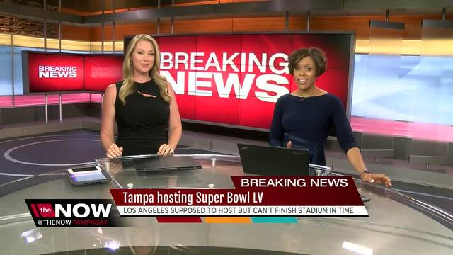 Tampa will host Super Bowl LV because of L.A. stadium delay