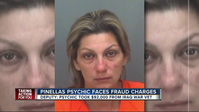PCSO- psychic scams military vet- widow out of -155K