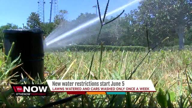 Phase III water restrictions go into effect across Tampa Bay area June 5
