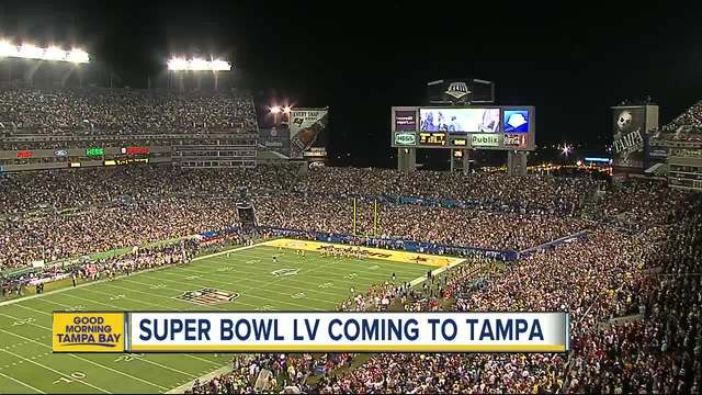 Super Bowl LV moved to Tampa-s Raymond James Stadium after unanimous vote
