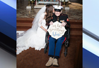 Bride asks 92YO uncle to be her 'something blue'