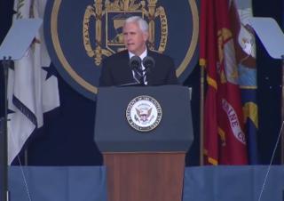 VP Pence to speak at Naval Academy graduation