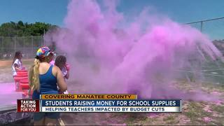 Students find colorful way to raise money